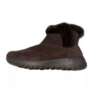 Skechers On the GO Joy Bundle Up Ankle Boot Size 7